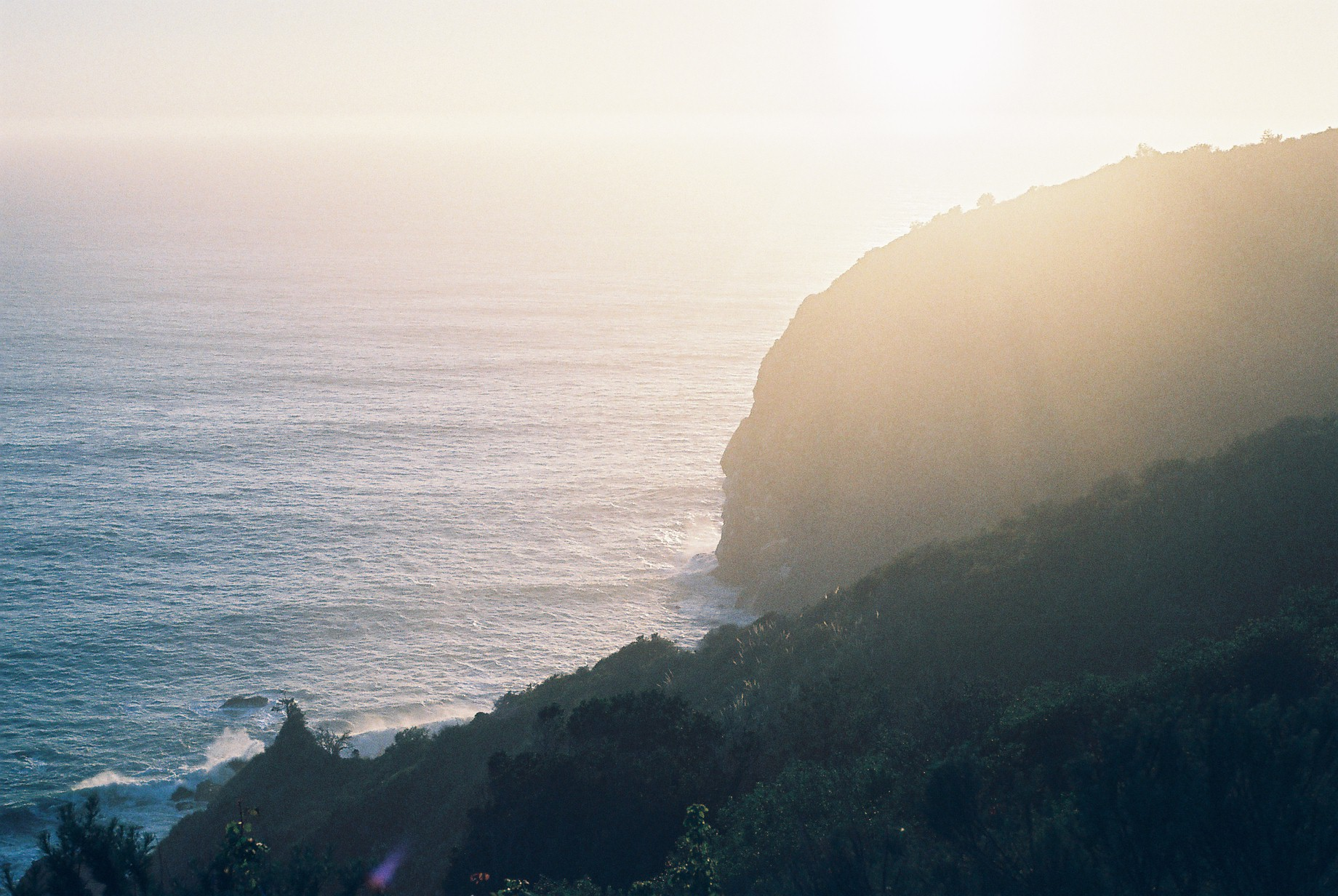 Highway 1 Sunset Analogue Travel Journal
