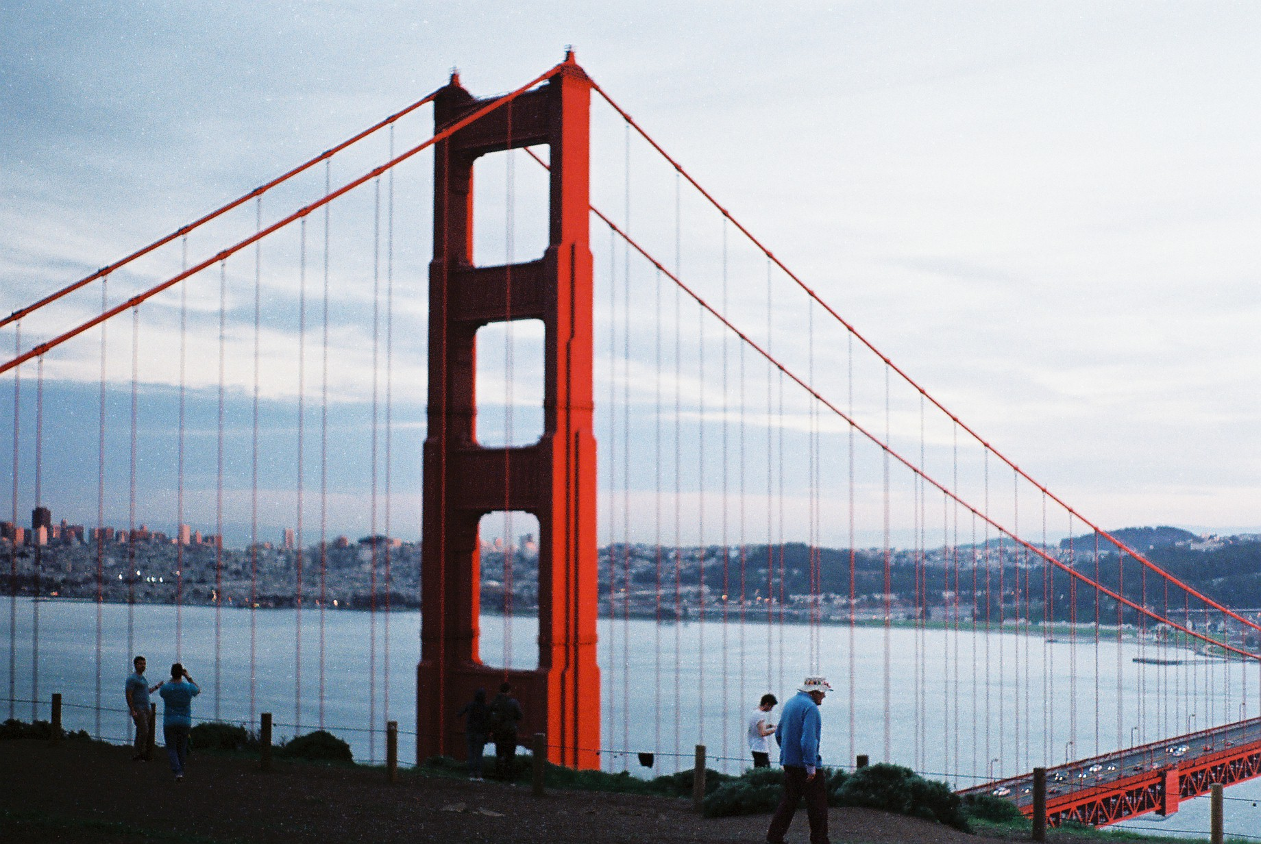 California Roadtrip SF Golden Gate Lookout Analogue Photo Journal