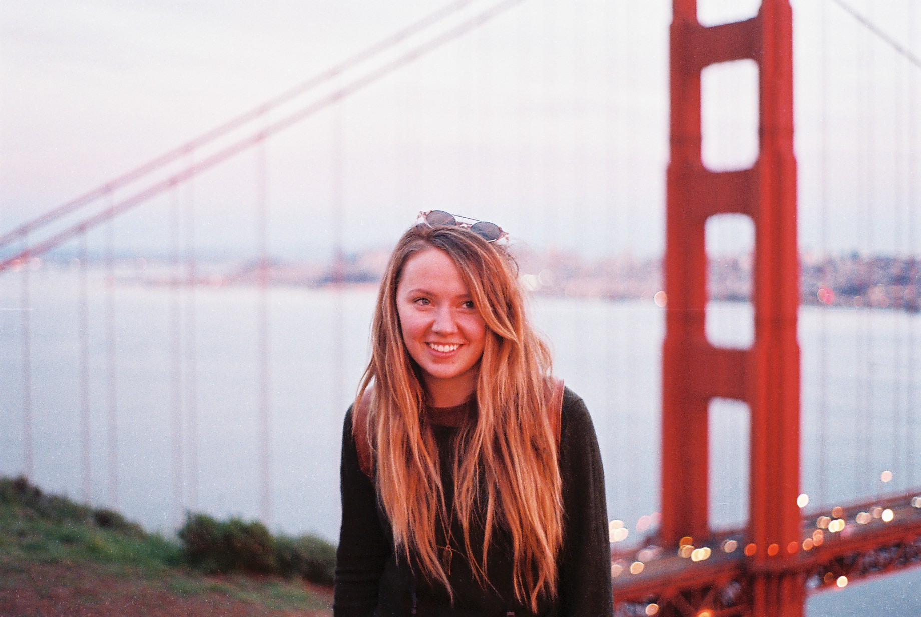 California SF Golden Gate Izzy Portrait Analogue Photo Journal