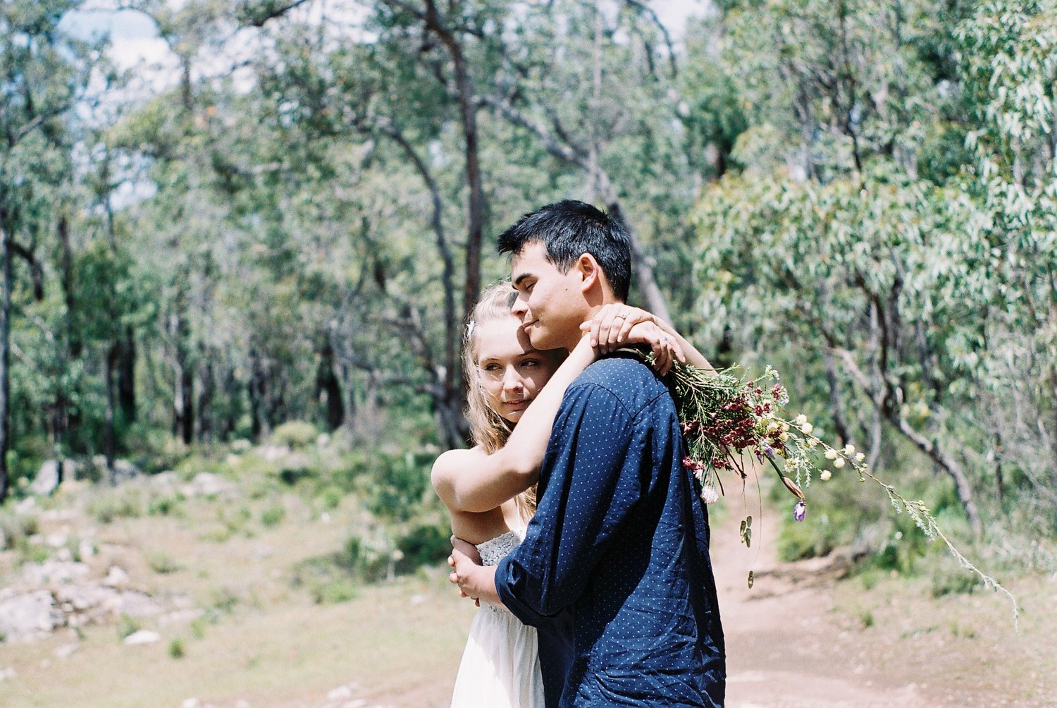 Jarrahdale Adventure Engagement Film Photographer