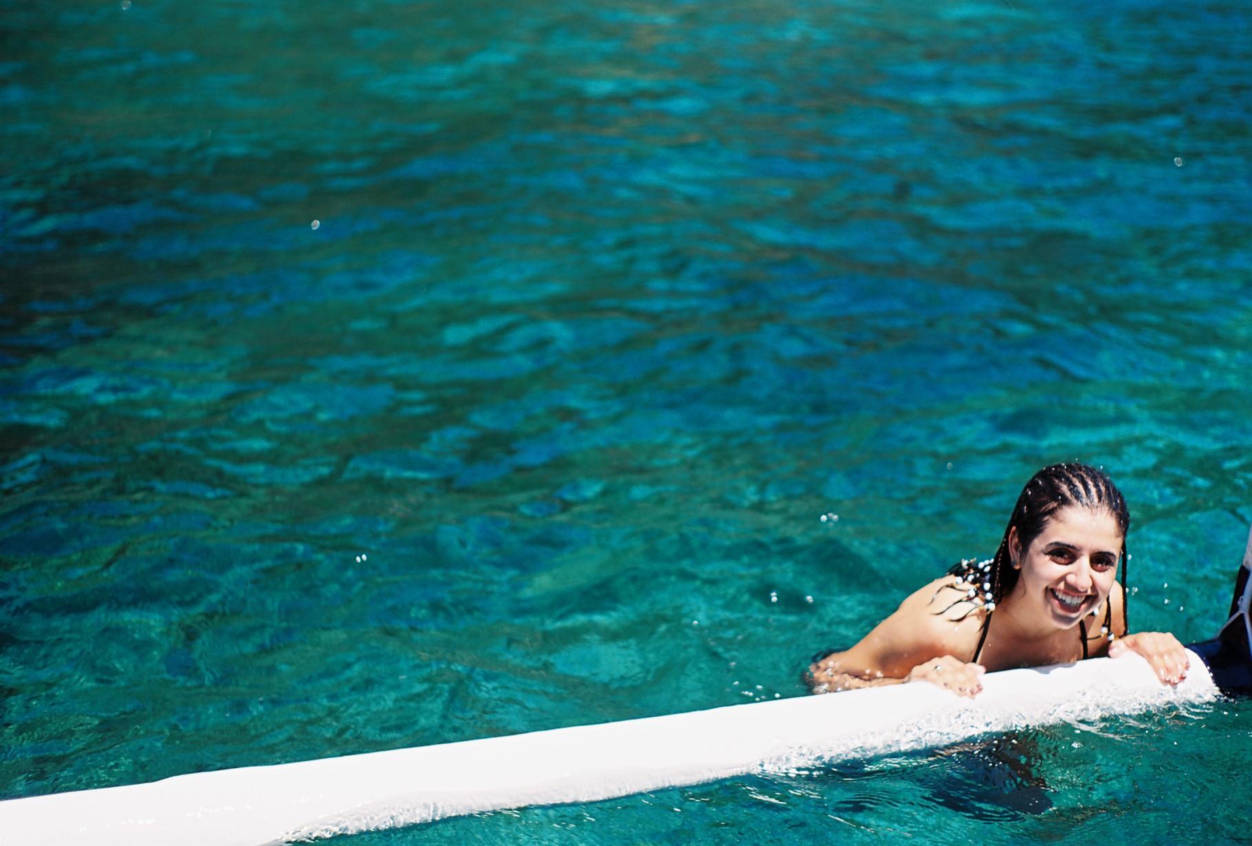 Padangbai Bali Ocean Analogue Travel Photography