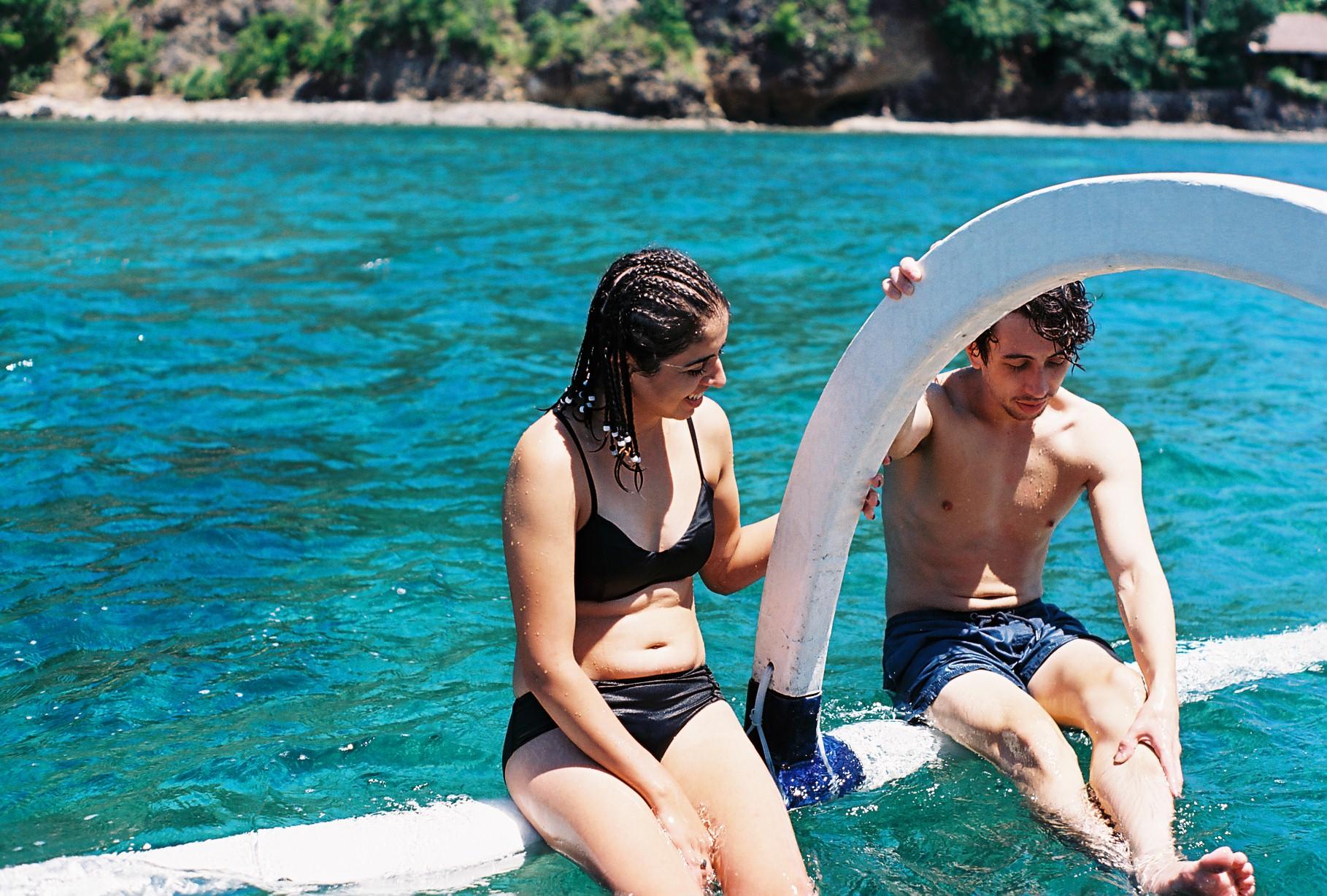 Padangbai Bali Friends Analogue Travel Photography