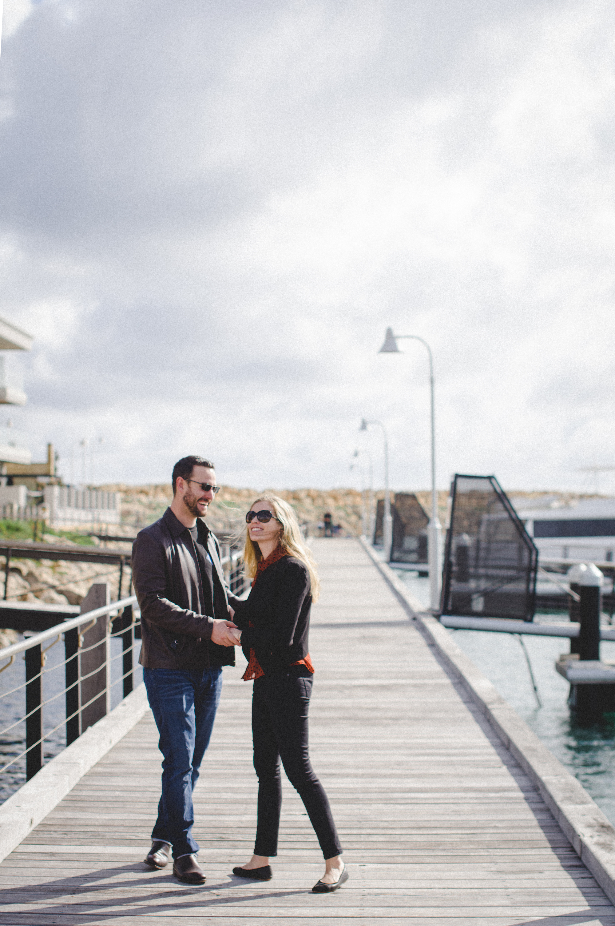 Mindarie Marina Authentic Couples Portrait Session