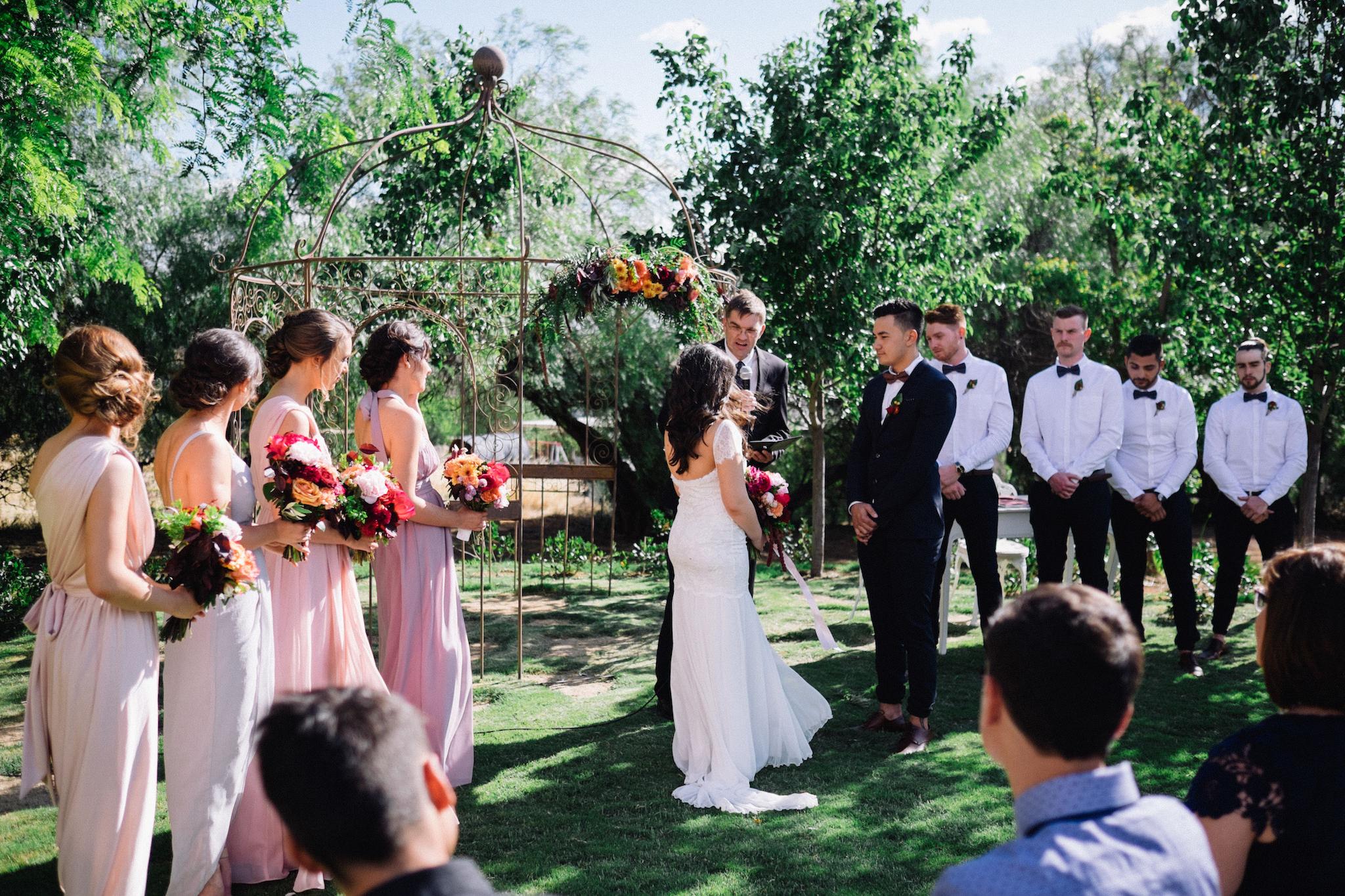 Laurelville Manor Ceremony Sarah Marvin York Wedding Photographer 10