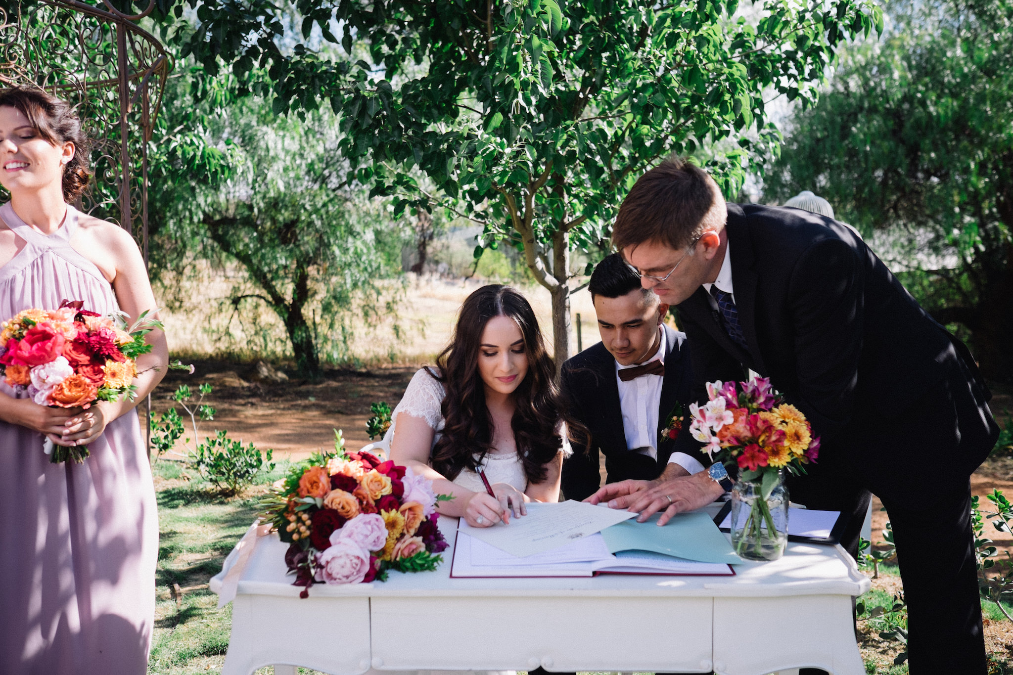 Laurelville Manor Ceremony Sarah Marvin York Wedding Photographer 16