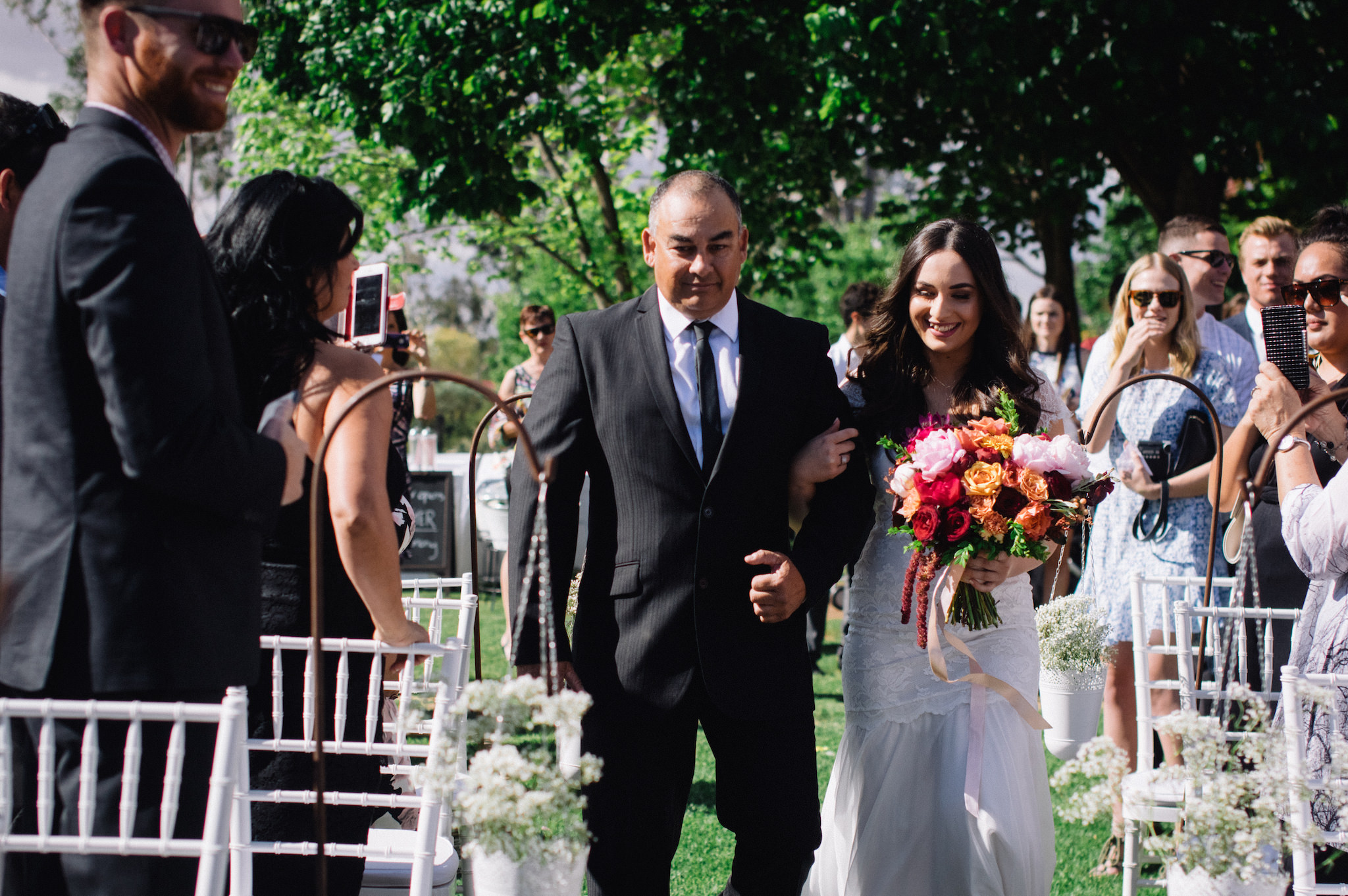 Laurelville Manor Ceremony Sarah Marvin York Wedding Photographer 4