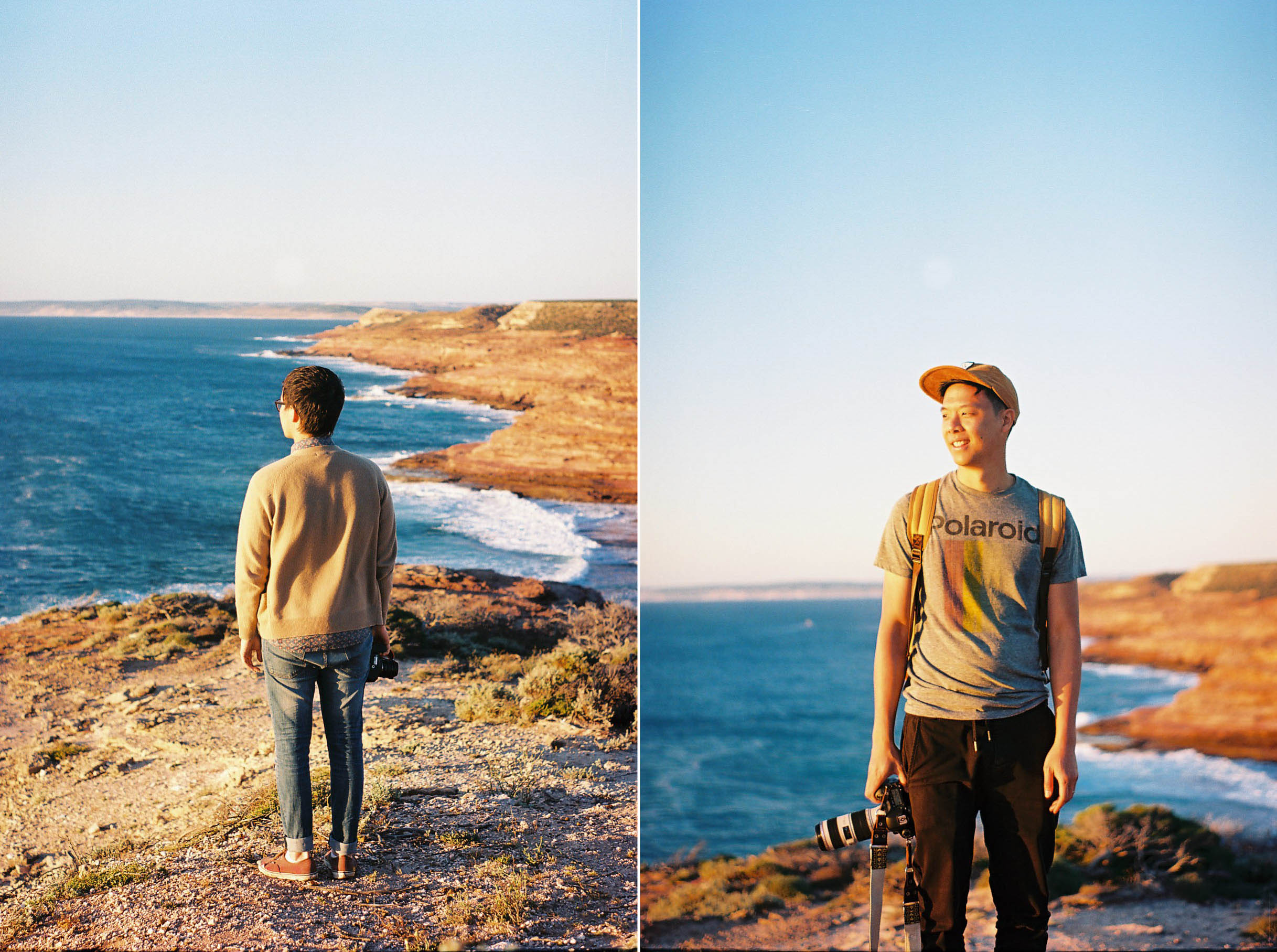 Kalbarri Coastal Walk Portraits Analogue Travel Photographer