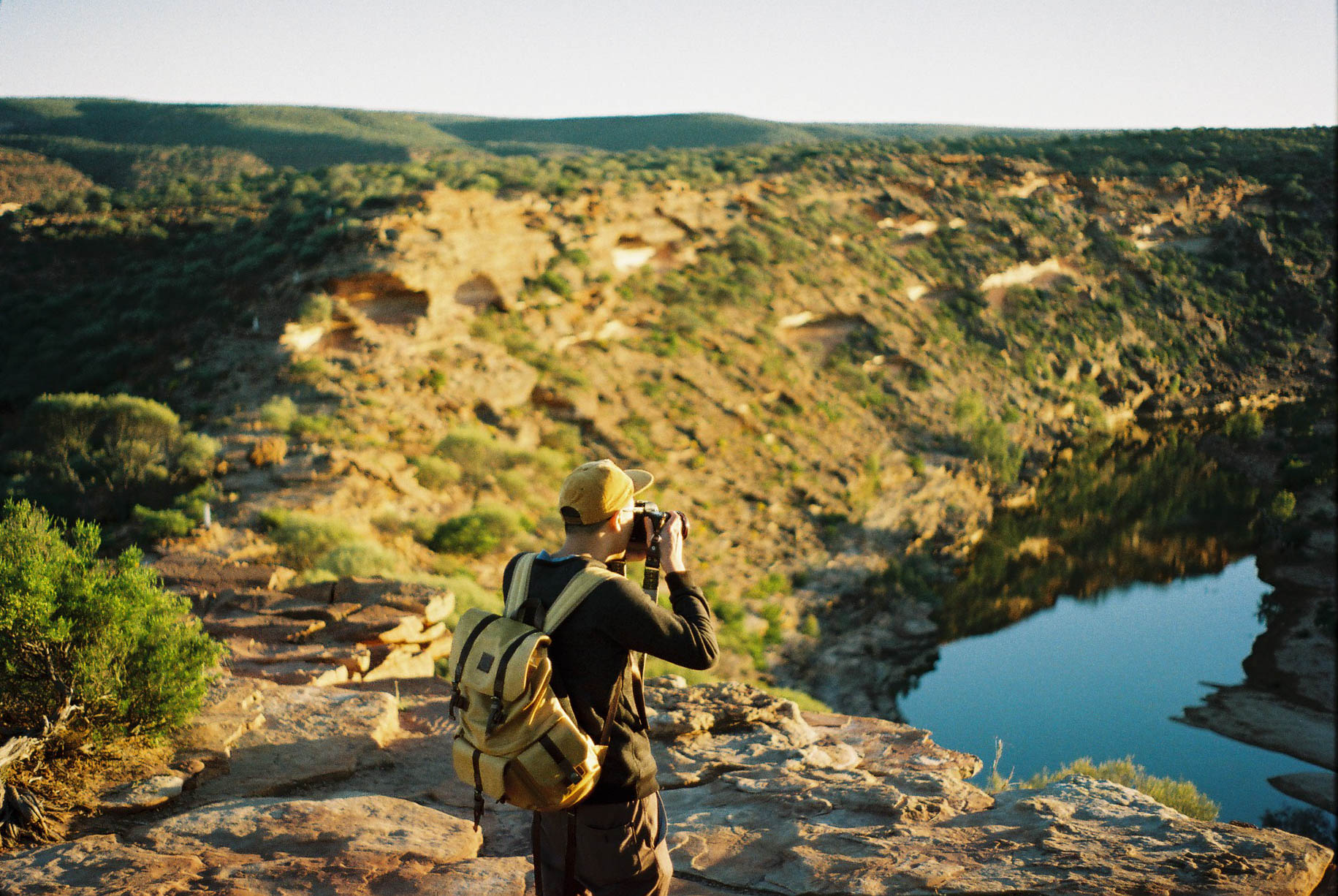 Kalbarri Loop Hike Sunrise Analogue Travel Photographer