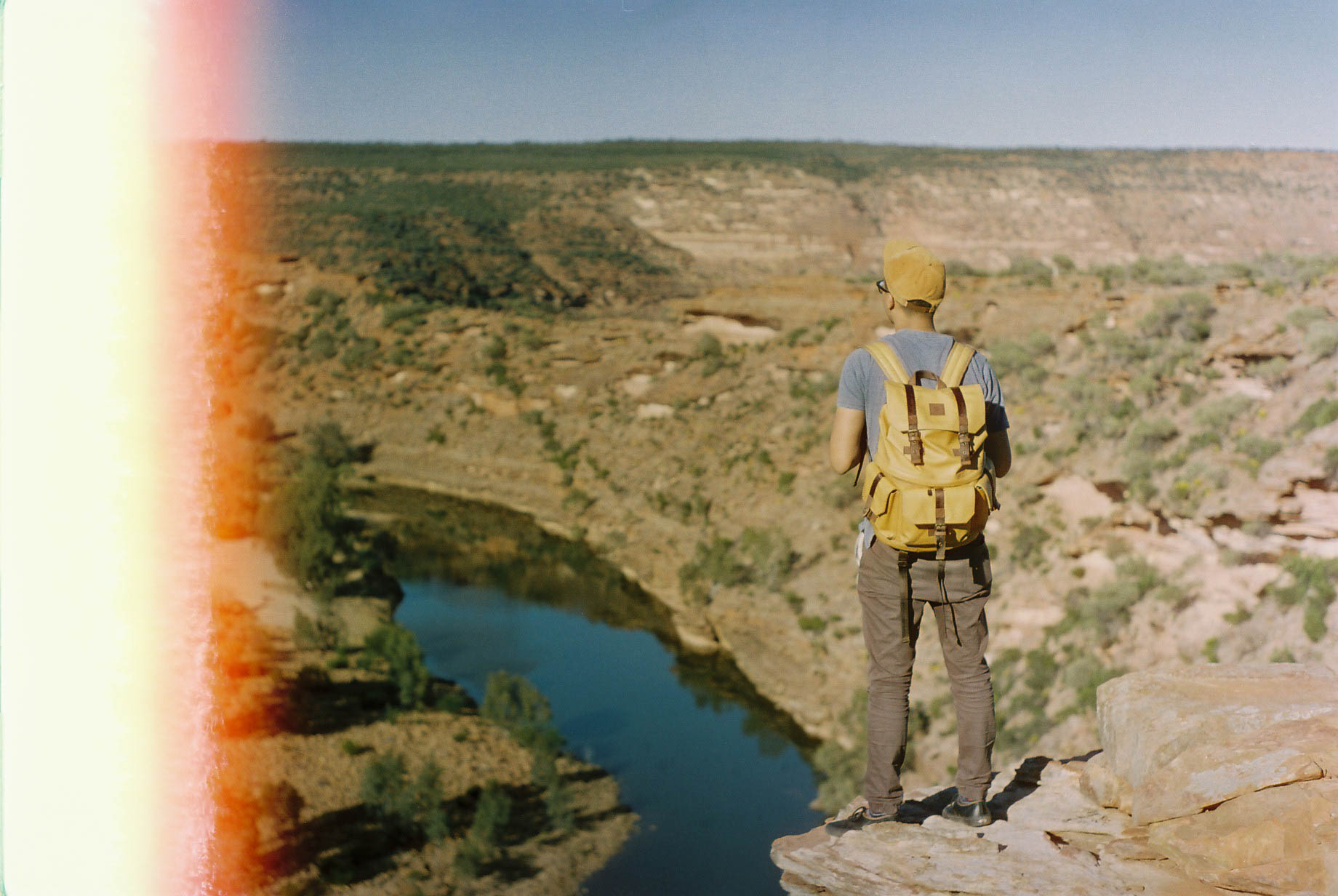 Kalbarri Loop Hike View Analogue Travel Photographer