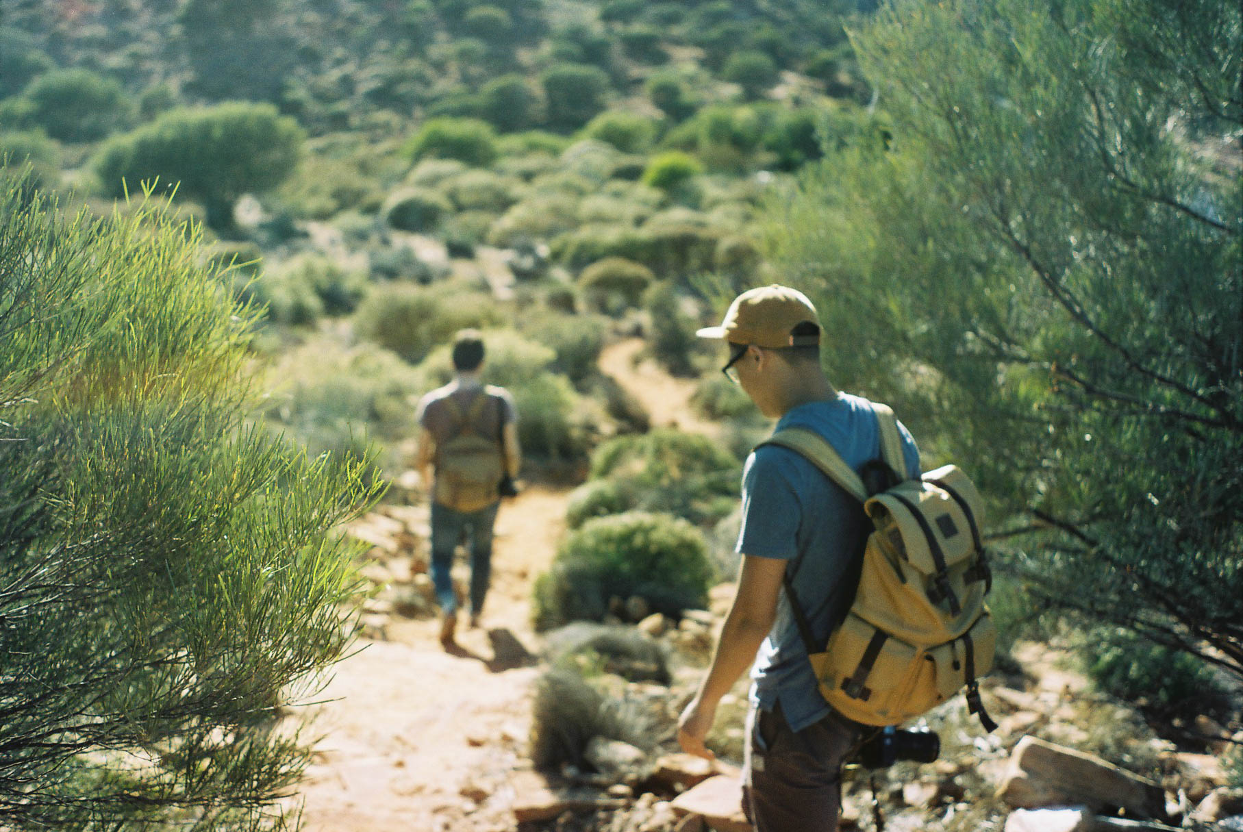Kalbarri Loop Hike Walk Analogue Travel Photographer