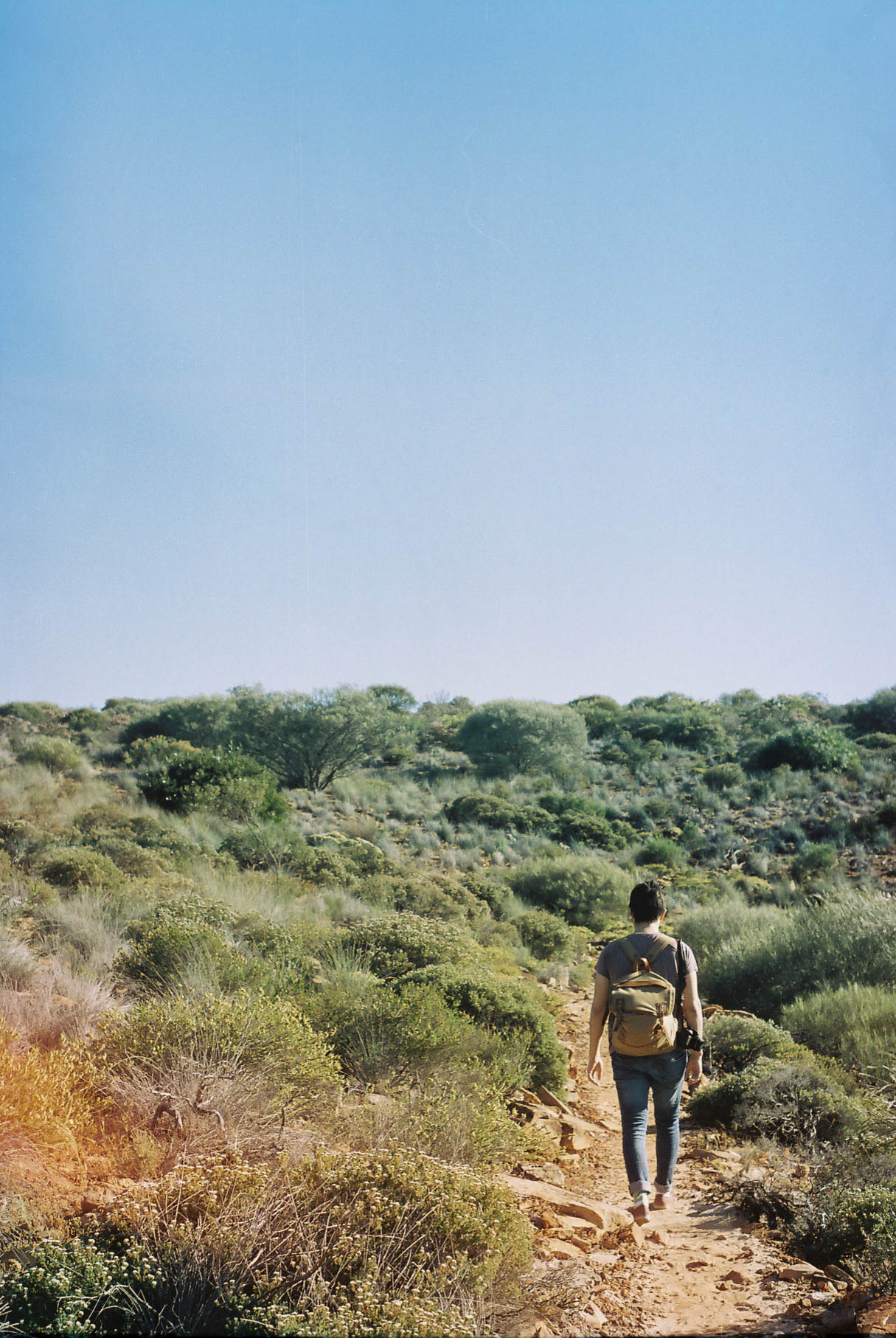 Kalbarri Loop Hike Scrub Analogue Travel Photographer