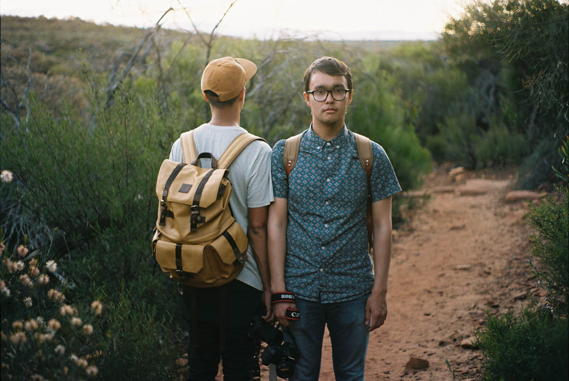 Kalbarri Z Bend Hipster Portrait Analogue Travel Photographer