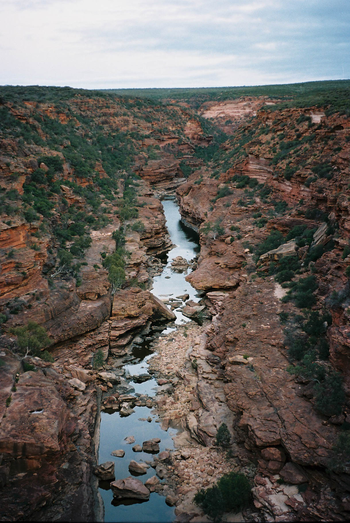Kalbarri Roadtrip Z Bend Gorge Portrait Analogue Travel Photographer
