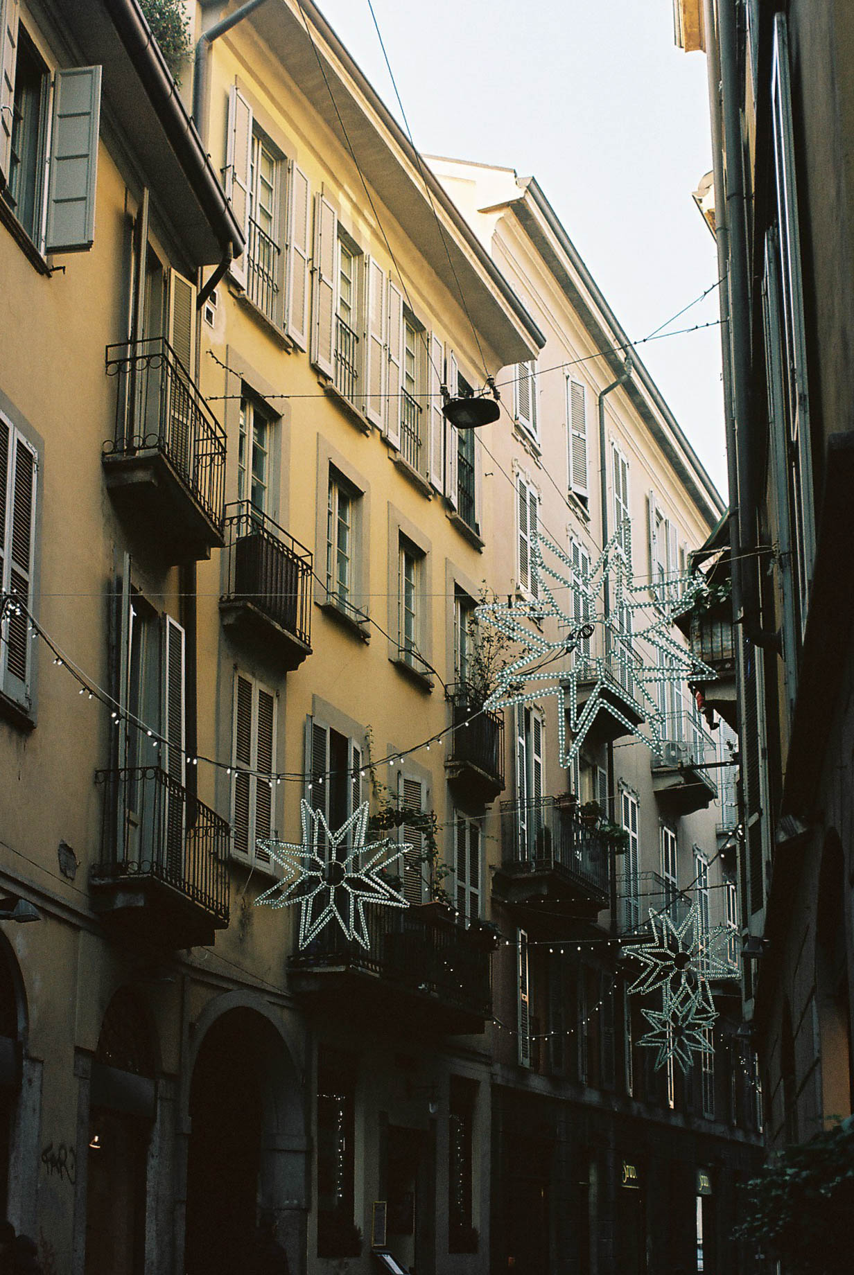 Christmas Lights Italian Winter Travels Lifestyle Travel Photographer