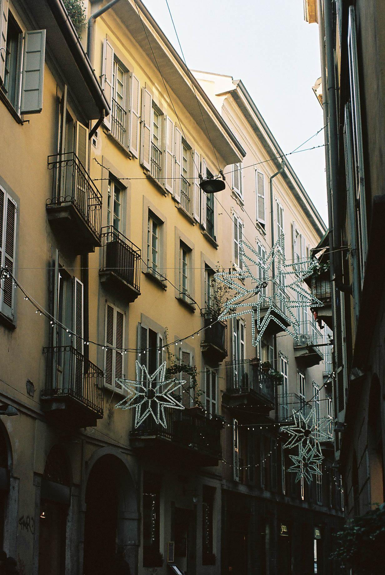 Christmas Lights Italian Winter Travels Lifestyle Travel Photographer