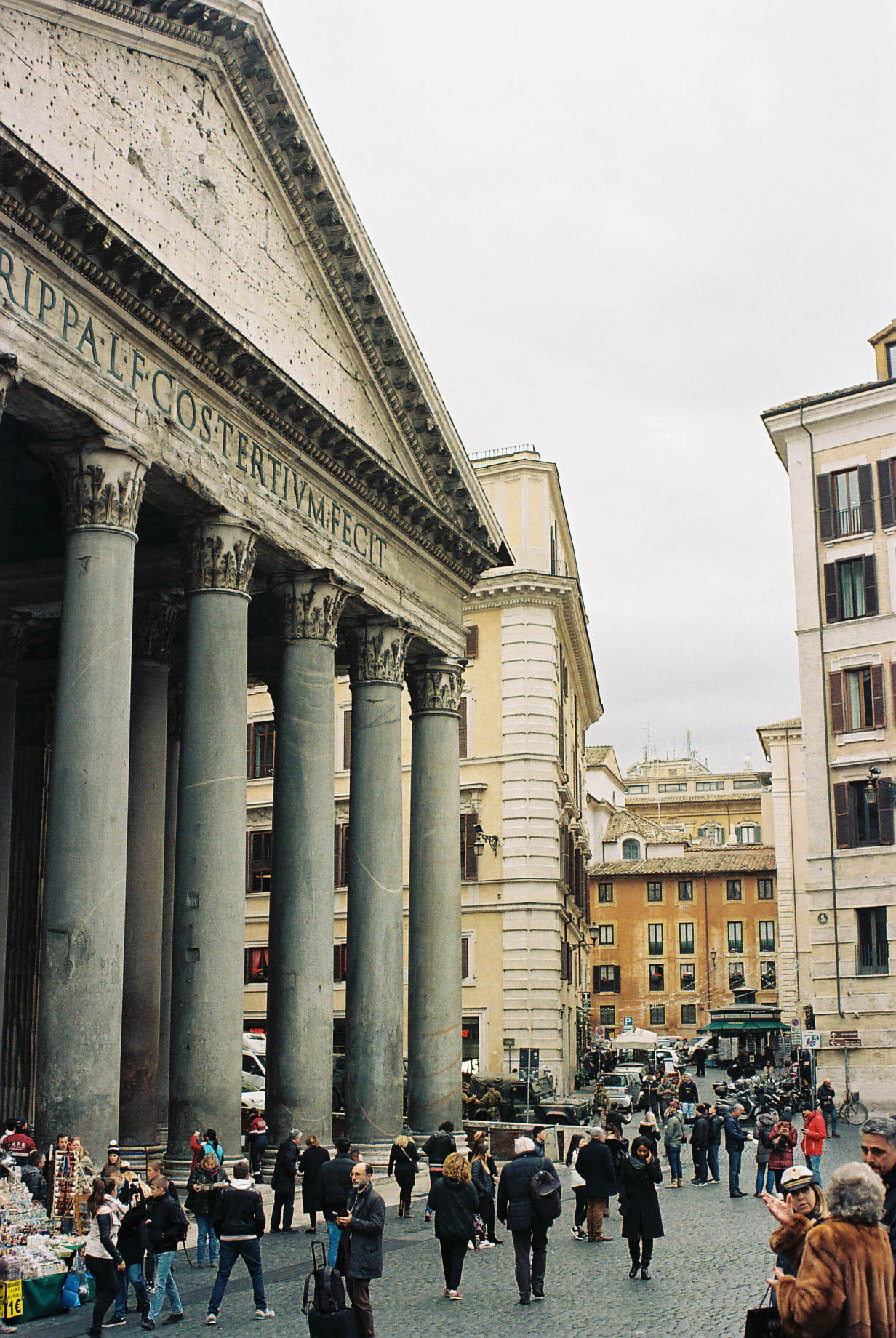 Rome Pantheon Italian Winter Travels Lifestyle Travel Photographer