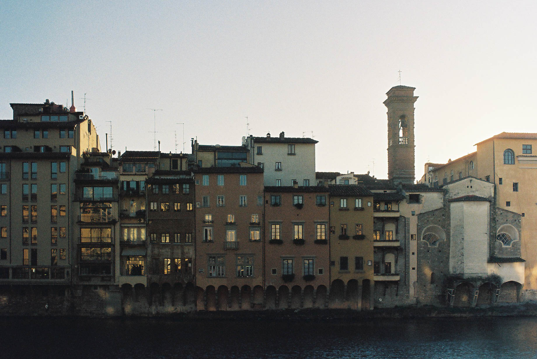 Arno Firenze Italian Winter Travels Lifestyle Travel Photographer