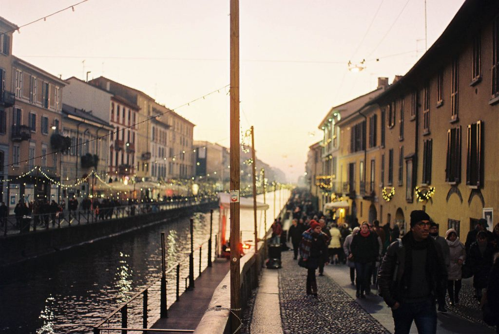 Naviglio Italian Winter Travels Lifestyle Travel Photographer
