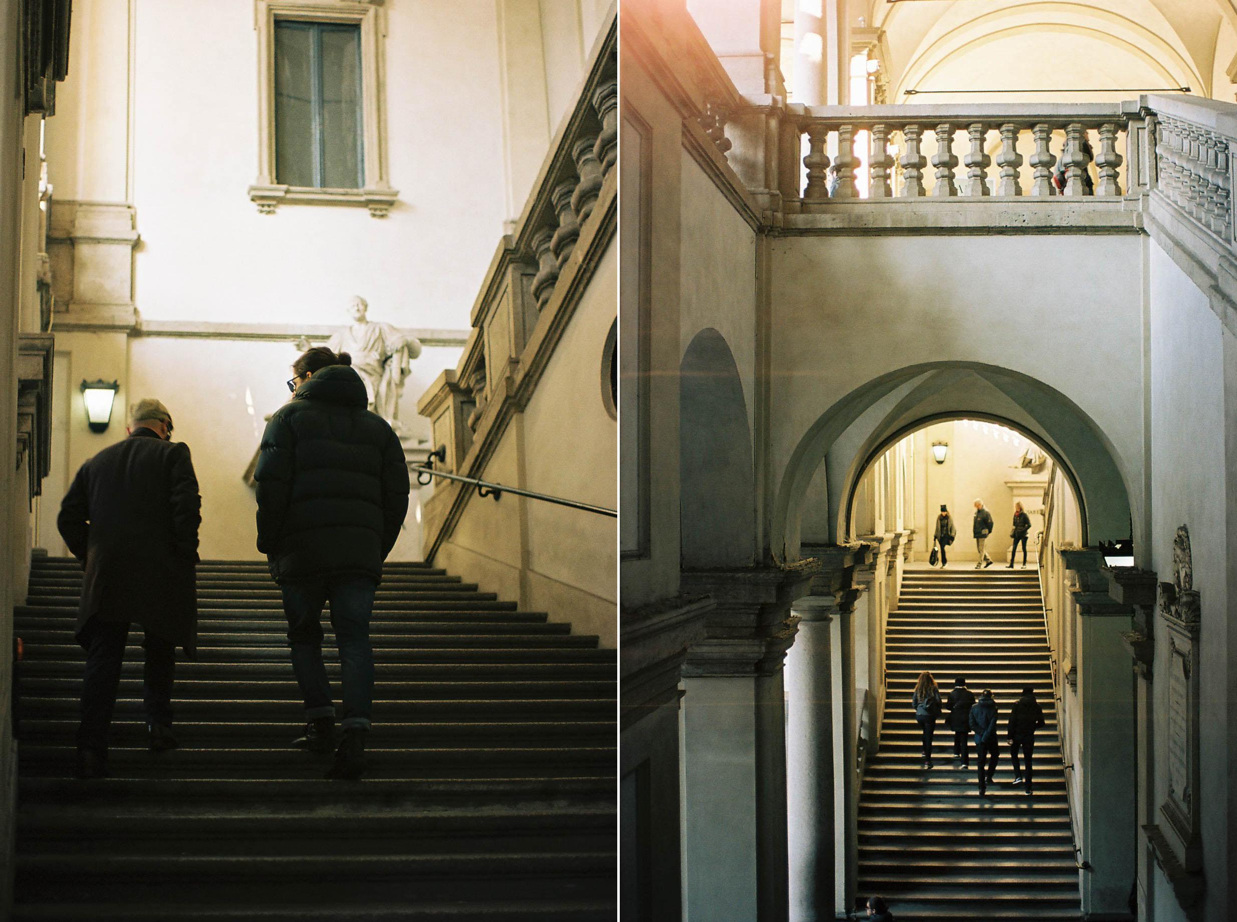 Pinacoteca di Brera Italian Winter Travels Lifestyle Travel Photographer