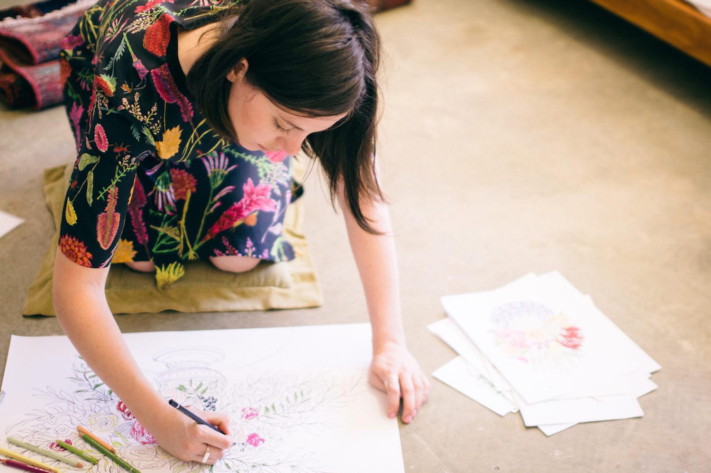 Creative Business Photography Ashleigh Perrella Artist Florist 37