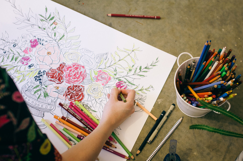 Creative Business Photography Ashleigh Perrella Artist Florist 39