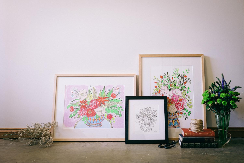 Creative Business Photography Ashleigh Perrella Artist Florist 12