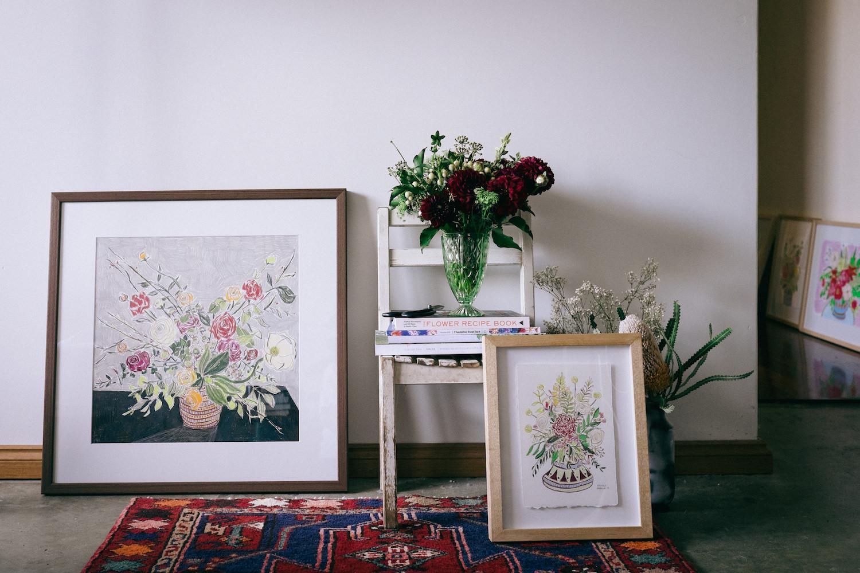 Creative Business Photography Ashleigh Perrella Artist Florist 3