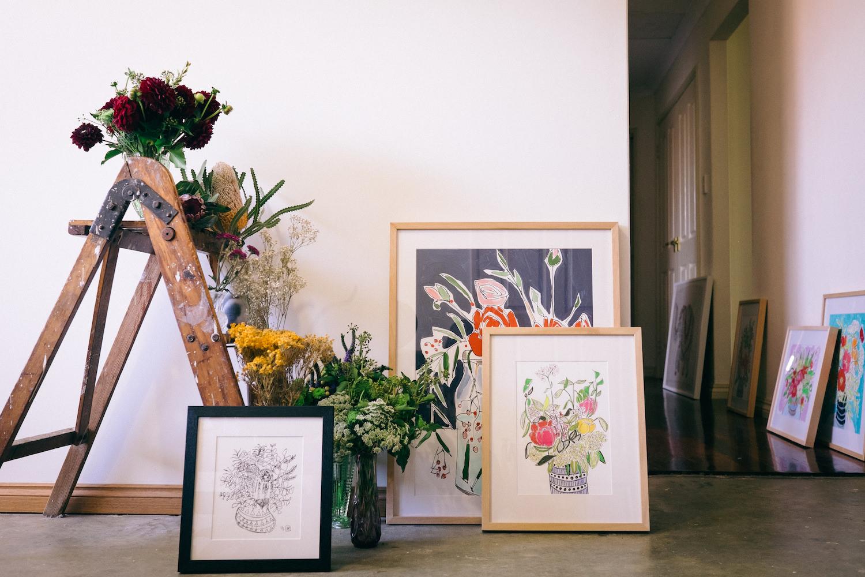 Creative Business Photography Ashleigh Perrella Artist Florist 15