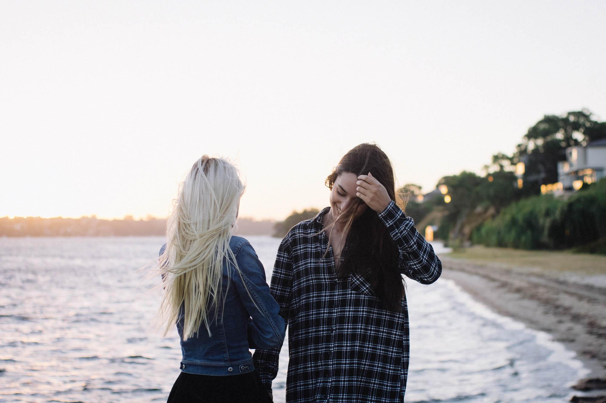 Swan River Sunset Portraits Mosman Park Photographer Sisters 1