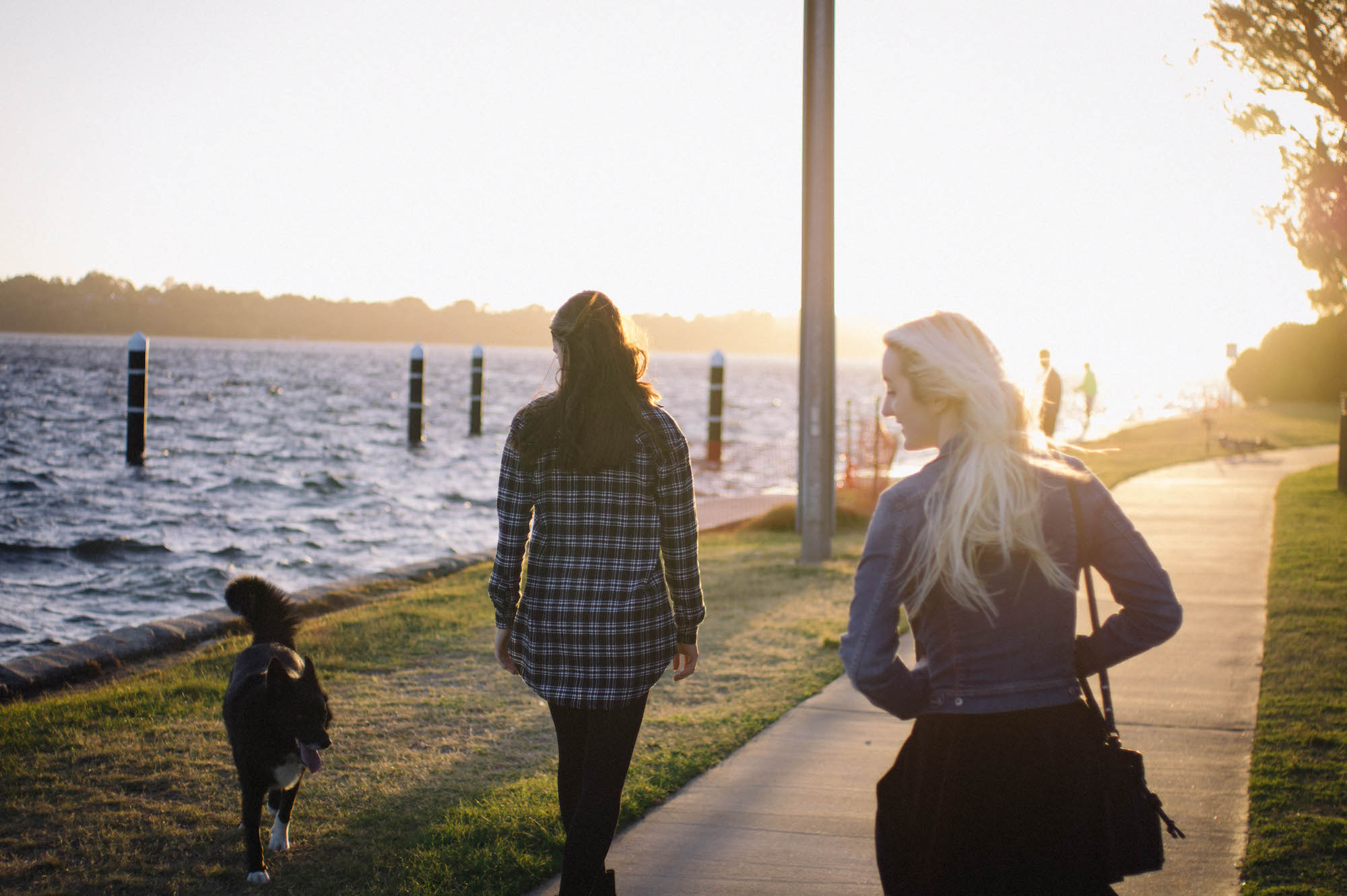 Riverside Family Portraits Perth Photography Sunset