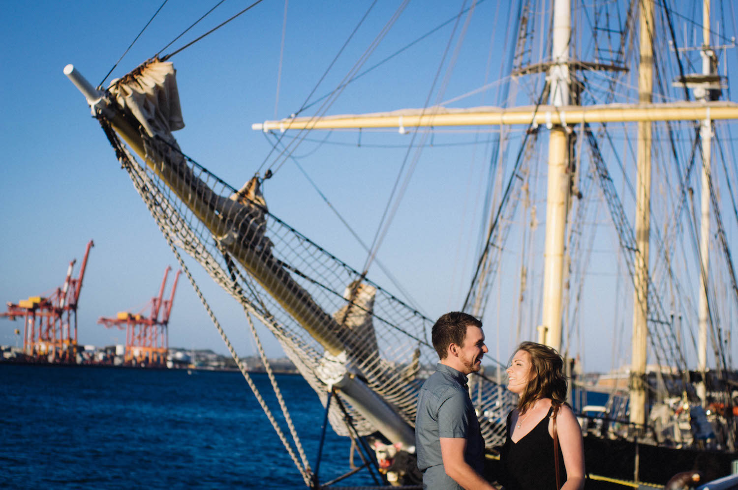 Fremantle Engagement Photographer Glen Kara Port 1