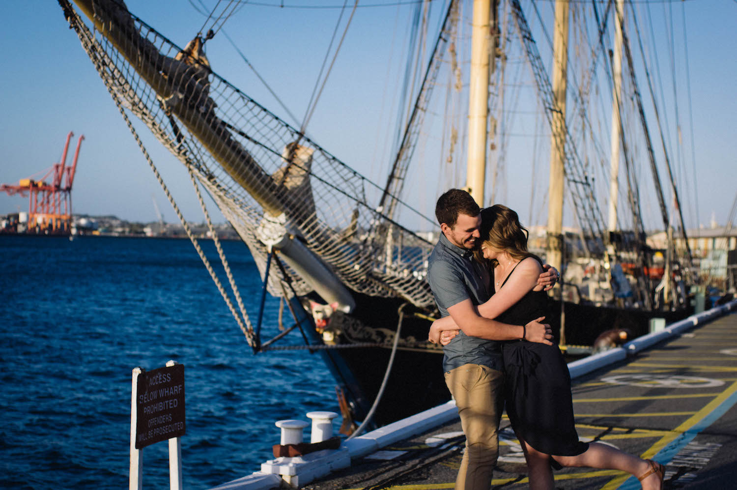 Fremantle Engagement Photographer Glen Kara Port 2