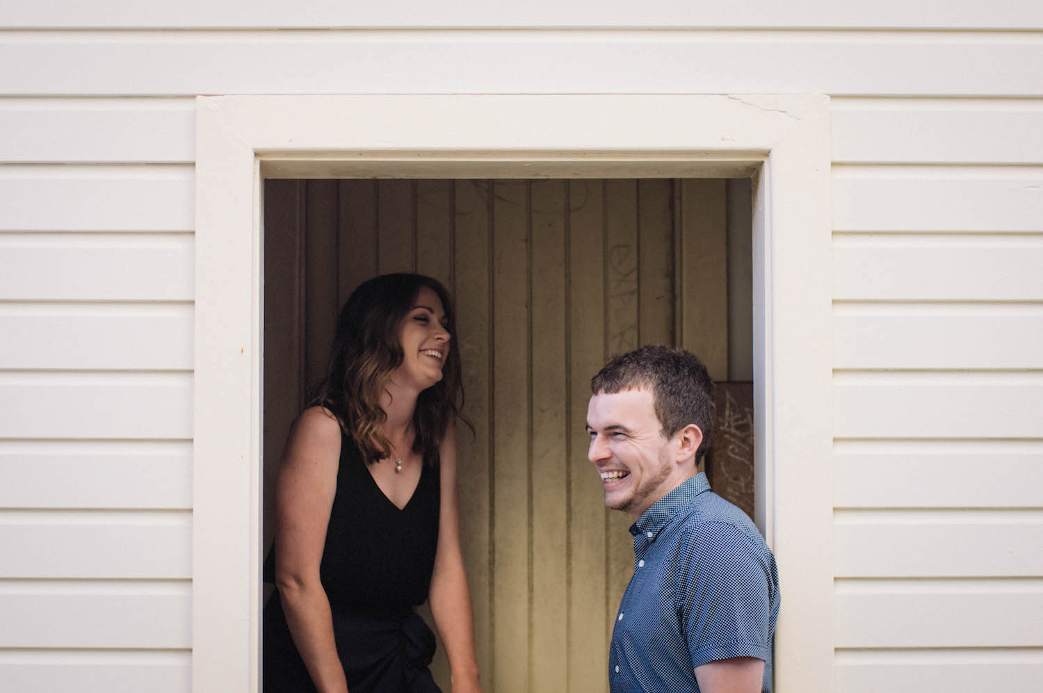 Fremantle Engagement Photographer Glen Kara B-Shed 2