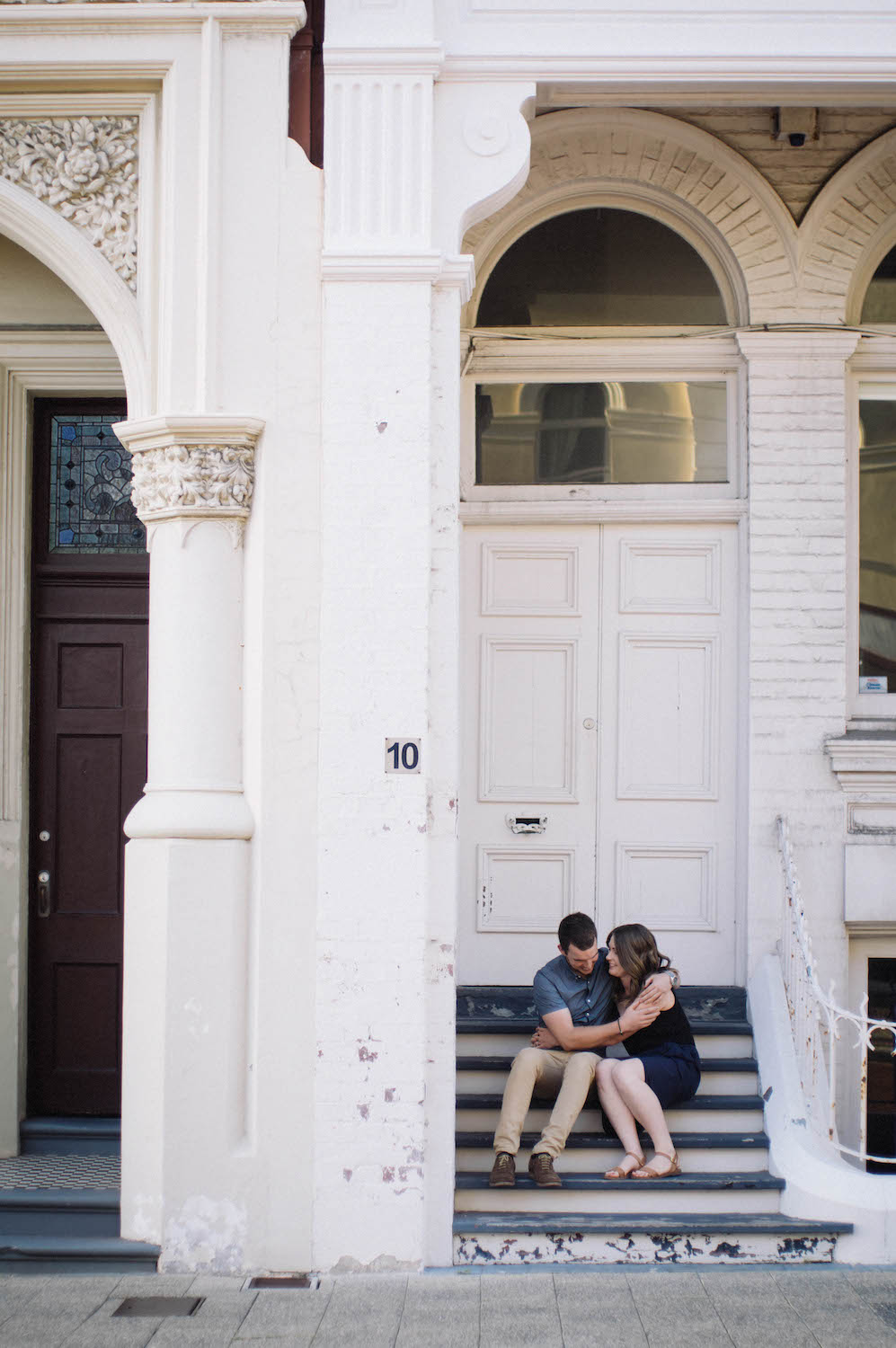Fremantle Engagement Photographer Glen Kara High Street 2