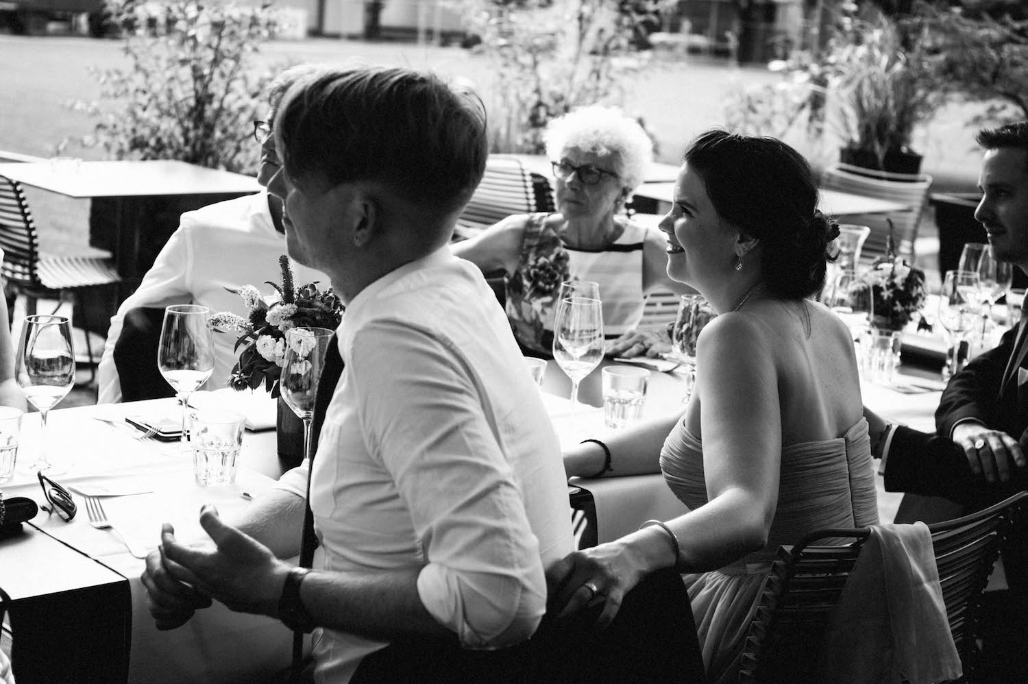 Basel Destination Wedding Photography Will & Fabs Parterre Lunch Reception 12