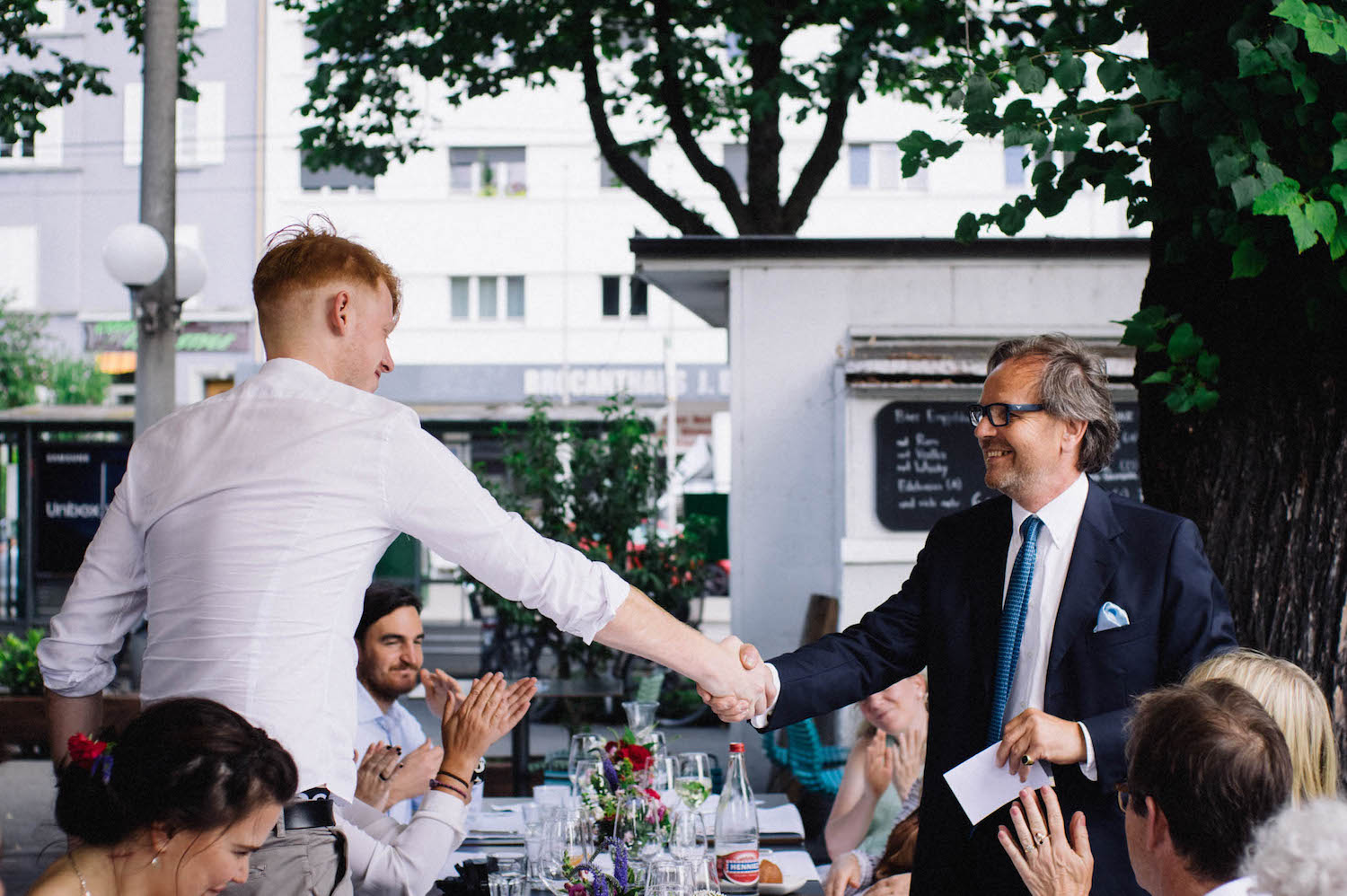 Basel Destination Wedding Photography Will & Fabs Parterre Lunch Reception 14