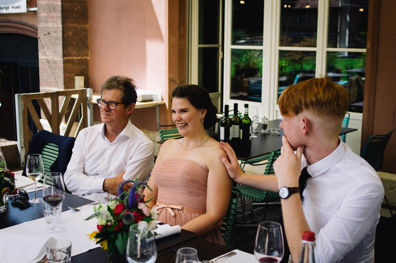 Basel Destination Wedding Photography Will & Fabs Parterre Lunch Reception 46