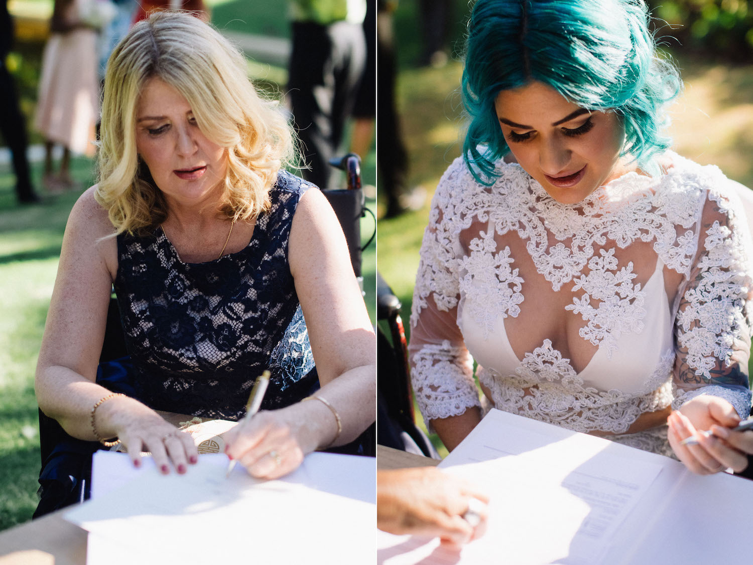 Harold Boas Gardens Perth Wedding Aimee Rory Ceremony Signing 3