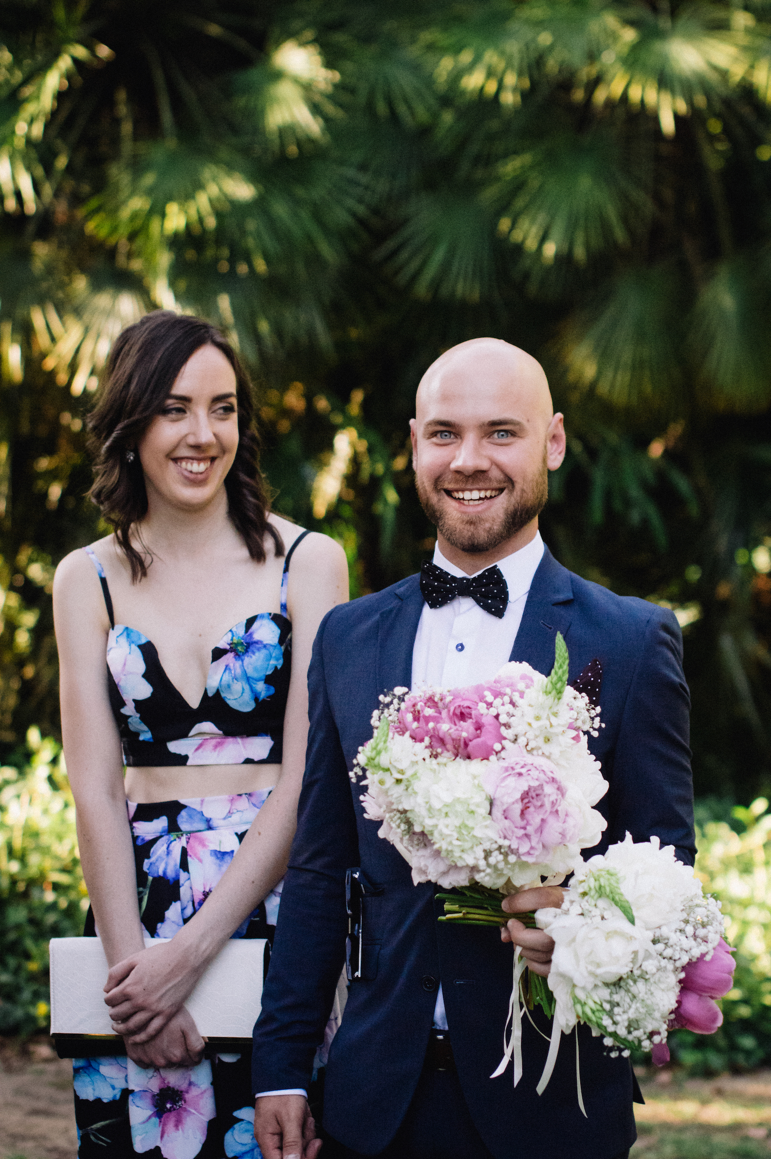 Harold Boas Gardens Perth Wedding Aimee Rory Congratulations 6