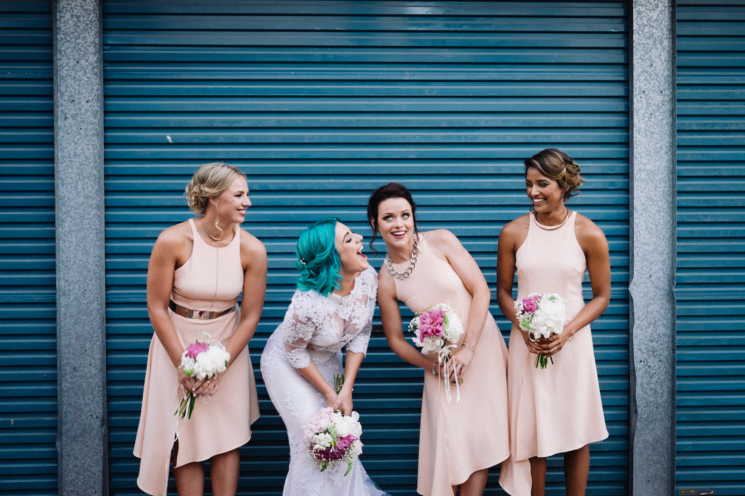 Wolf Lane Perth Wedding Aimee Rory Portrait Photos Girls