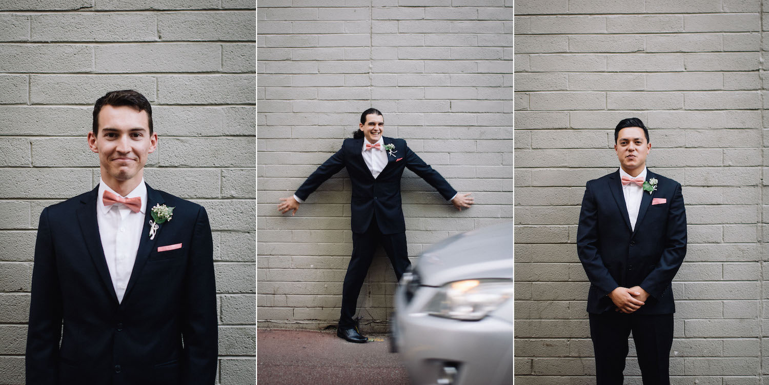 Wolf Lane Perth Wedding Aimee Rory Portrait Photos Groomsmen