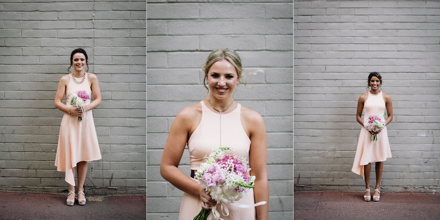 Wolf Lane Perth Wedding Aimee Rory Portrait Photos Bridesmaids