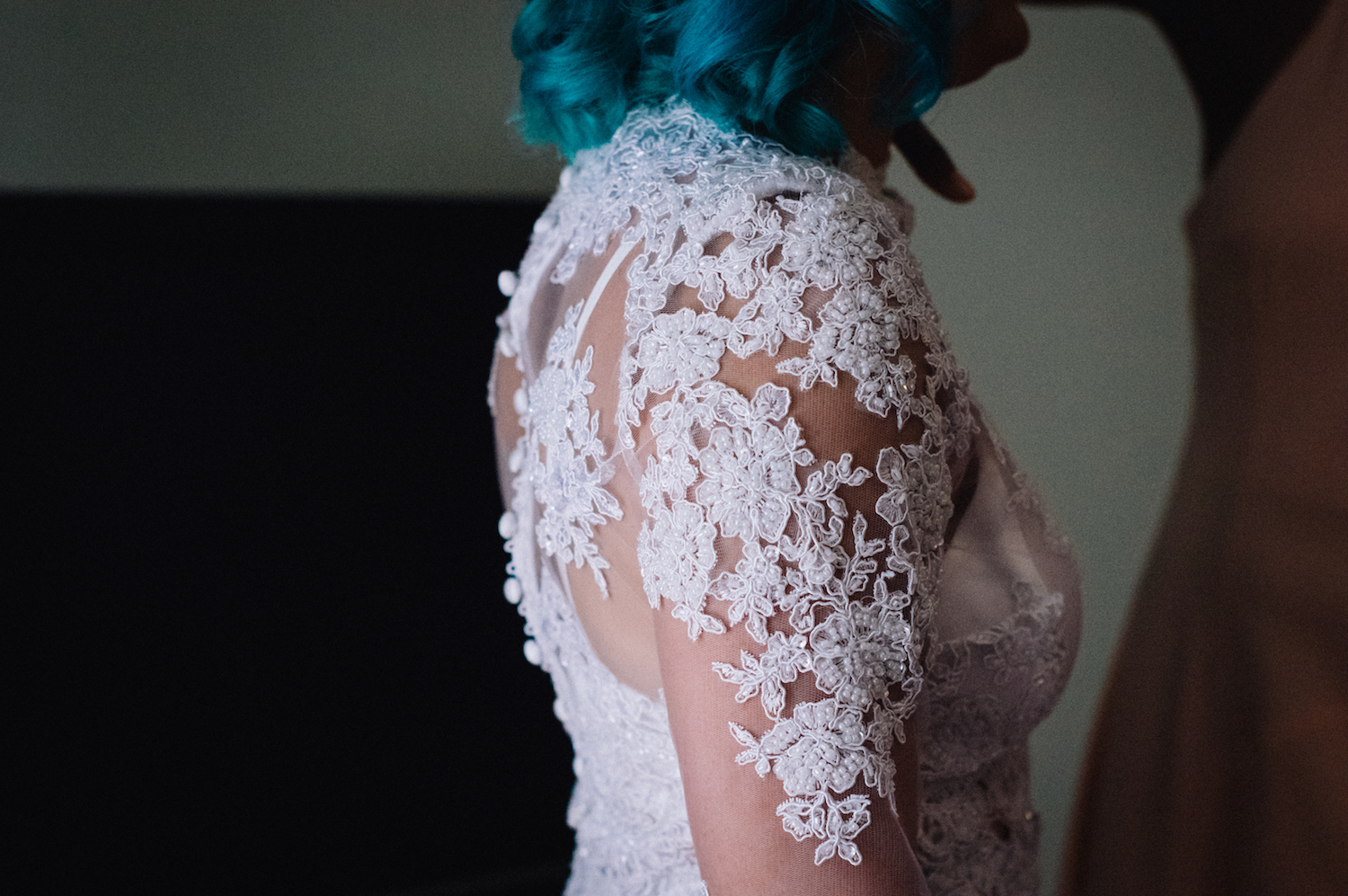 Perth Wedding Photography Aimee Rory Handmade Dress Details 2