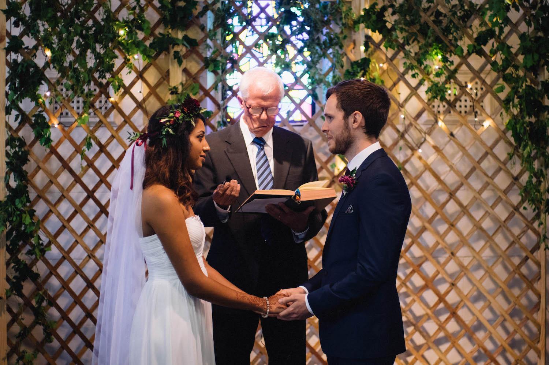 Jibb & Tripthi's wedding ceremony at St Matthew's Anglican Church, Shenton Park.