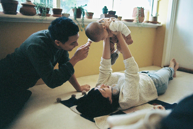 Lifestyle Family Photos on Film: Sarah & Jinn - Rhianna May