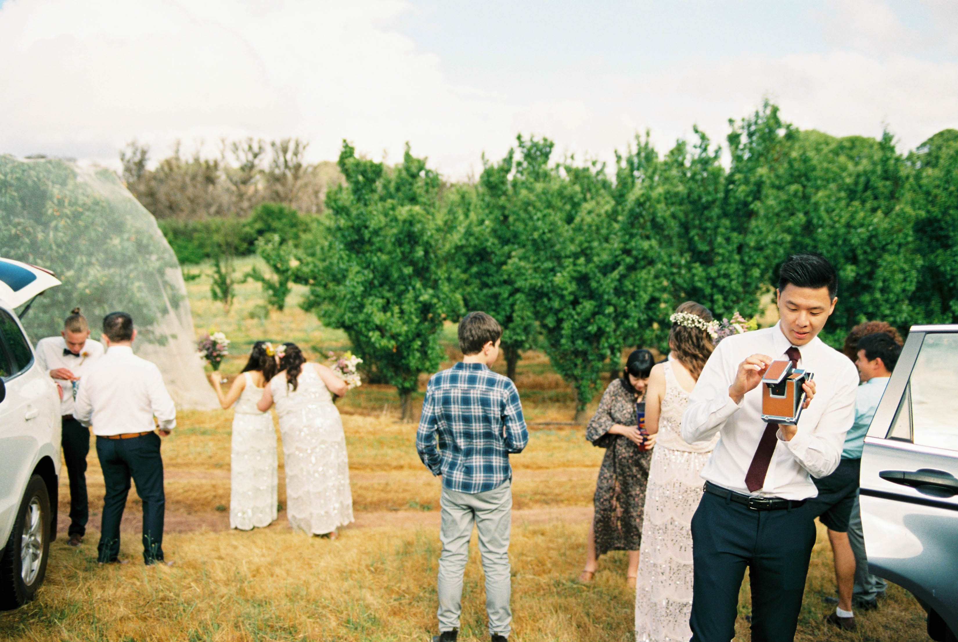 Documentary Wedding Photography of the bridal party